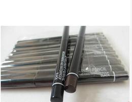 Wholesale Eyeliner Gel Pro - Free shipping 60PCS Lot Pro Brand Makeup Rotary Retractable Black Gel Eyeliner Beauty Pen Pencil EyeLiner