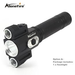 AloneFire X180 Lumiparty 5000LM Linterna LED XML T6 + 2XPE 360 grados giratorio portátil al aire libre Soporte de luz Imán Linterna a prueba de agua desde fabricantes