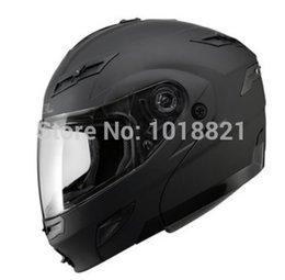 Wholesale Sol Helmets - Genuine motorcycle helmet SOL SM-1 dual lens outside plain lenses containing hidden sunglasses