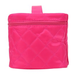 Wholesale Vanity Handbag - Wholesale- Traveling Finishing Dressing Vanity Case Letters Collapsible Bag Handbag Cosmetic Bag Toiletry Kits Admission Package Travel
