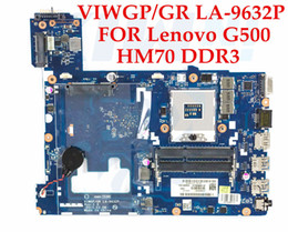Wholesale High Gr - High quality laptop motherboard for Lenovo G500 VIWGP GR LA-9632P SJTNV HM70 chipset DDR3 100% Fully Tested