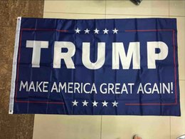 Wholesale Usa Great - 90*150cm Trump 3x5 Flag 2016 Make America Great Again Donald for President USA American 2016 Presidential Election Flags for Sale