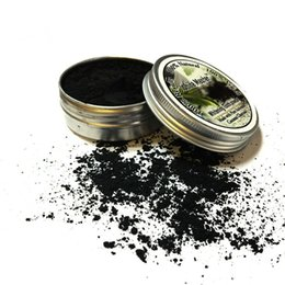 yellow teeth white Promo Codes - Oral Whitening Tooth White Master Bamboo Activated Charcoal Powder Decontamination Tooth Yellow Stain Smoke Tooth Stain Bad Breath free DHL