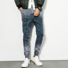 Wholesale Denims U - Wholesale- 2017 Style Fashion Full Length Solid Skinny Jeans Men Brand Designer Clothing Denim Pants U& plus size 5XL Casual Trousers Male