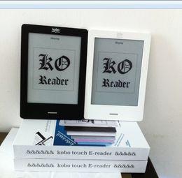 Wholesale E Book Reader Wifi - Wholesale- E book Reader Original Kobo Touch e-ink ebook Reader N905C 2GB wifi 6'' Touchscreen , data line , 95%new,100% perfect condition