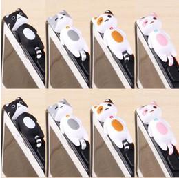 Wholesale Dust Plug Anime - Plugy South Korea lying 633 cat mobile phone dustproof plug card sets 3.5mm dust adorable anime game