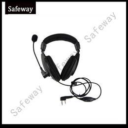 Wholesale Kenwood Radio Mic - Walkie talkie light weight headset with boom mic for kenwood TK-3201, TK-3202, TK-3206, TK-3207 two way radio baofeng UV-5R