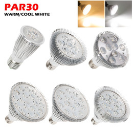 Wholesale Par38 Led 36w - LED Lighting Spot Lamp downlight Par20 Par30 Par38 LED Light Bulb Lamp 85-265V 6W 14W 18W 30W 36W LED SpotLight Lamp Bulbs Indoor Lighting