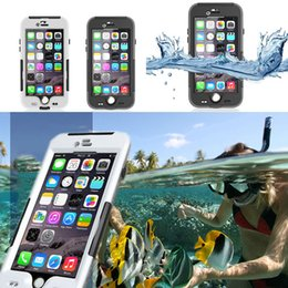 Wholesale Entry Phone - Clip-on Entry-level Fingerprint IP68 Waterproof Underwater PC Hard Case for IPhone 6 6s Plus Phone Protective Cover