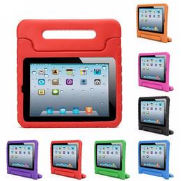 Enfants Safe Mousse EVA Antichoc Case Poignée Silicone Stand Housse De Protection Shell Pour iPad 2/3/4 Air1 / 2 Mini 1/2/3 ? partir de fabricateur