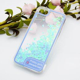 S6 блеск онлайн-Для Samsung S8 Plus S7 Edge S6 Edge Plus S5 2017 новый горячий TPU LED жидкая вода Shinng Glitter Case Звезда розовое золото