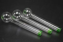 Tubo di vetro per bruciatori di olio di Grace Tubo di vetro per tubi di fumo verde Tubo per tubi di irrigazione a mano di Dab Rig Bruciatore a mano riciclato Bruciatore di olio migliore da