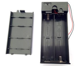Wholesale 3v Battery Holder - 1.5V X2 X3,X4 D Battery boxs D Battery Holder Enclosed Box With switch 3V 4.5V 6V Battery boxs D