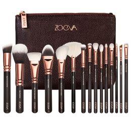 Wholesale Anne Black - New Arrivals 8 pcs Rose Gold Makeup Brush Complete Eye Set Tools Powder Blending Brush pincel para base Anne