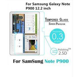 Samsung galaxy note pro 12.2 on-line-Prémio protetor de tela de vidro temperado para samsung galaxy note pro 12.2 p900 p901 p905 temperado película protetora