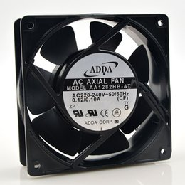 Ventiladores de arrefecimento do inversor on-line-ADDA AA1282HB-AT 220 V 12 CM 12038 0.12A inversor ventilador de refrigeração