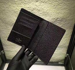 Wholesale Passport Clutch - New Brand Passport Holder Luxury Brand Name credit Card Holder Genuine Leather passport holders High Quality M60181 N60189 M63189 N60032