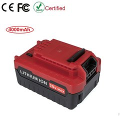 Wholesale Replacement V Battery for Porter Cable Cordless Tools V Ah Lithium Ion Battery PCC685L PCC681L PCC680L PCC682L PCC600
