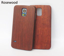 Wholesale Wholesale Wooden Mobiles - Bamboo Wood For Samsung Galaxy S5 S6 S7 edge Mobile Phone Case Wooden Hard Back Cover For Iphone Apple 6 plus 7 6s Cellphone Cases