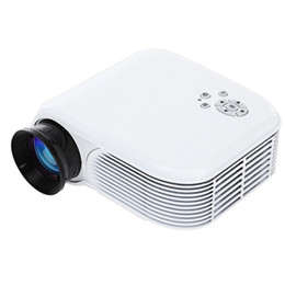 Wholesale Projection Lcd - Wholesale- H86 LCD Projector 1000LM 640 X 480 Pixels 1080P Home Theater Projection Size 30-100 Inches Picture PK GP9 UNIC UC40 UC40+
