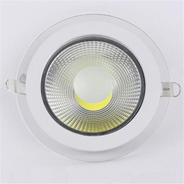 Wholesale Dimmable Led Day Light - New Arrival Round LED Lights 5w 10w 15w downlight cob led dimmable spotlight LED recessed lighting lamps warm cool white day light AC85-265V