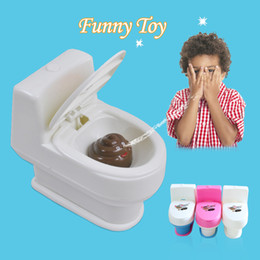 Wholesale Tricky Toilet Toy - Wholesale-Hot Sell Halloween Spray Water Toilet Closestool Vent Jokes Gags Pranks Maker Trick Fun Novelty Funny Gadgets Blague Tricky Gift