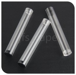 Wholesale Th Wholesale - e cigaretet battery small plastic tube containers for open vape pen bud touch TH OIL pp tube package 510 cartridge vaporizers plastic pack