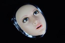 Wholesale White Witch Dress - 1 piece of BLV- 2 crossdresser Cross dressing silica gel mask transgender makeup items Makeup mask