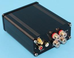 Wholesale Mini Stereo Amps - YJ HIFI Audio Amplifier Class 2.0 Audio Stereo Digital Power Amplifier TPA3116 Power 2*50W Mini Home Aluminum Enclosure Amp