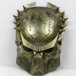 Wholesale Iron Man Guns - horror Paintball wolf Mask scary avpr lone Wolf Iron Airsoft BB Gun and Army airsoft predator mascara mask
