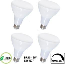 Wholesale Smd Led Candle Light Dimmable - BR20 BR30 BR40 7W 9W 12W 15W LED Bulb Lights LED Flood Light E26 E27 LED Candle Indoor Dimmable Lamp Pendant Spot Lighting 50pcs lots