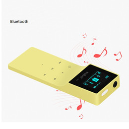 Wholesale 8gb Touch Music Player - Wholesale- Mini thin M260 mp3 Player 8GB Hifi Bluetooth Clip Sport Walkman Mp3 Music Player Recorder fm Radio Function touch Screen