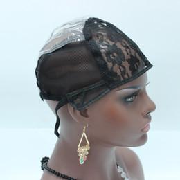 tappo di trama Sconti 5pcs Cap parrucca per fare parrucche Regolabile macchina della cinghia fatta tessitura Cap estensione dei capelli umani trama tessere parrucca ebraica tappi