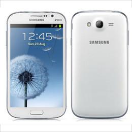 LCD original reacondicionado Samsung Galaxy Grand I9082 celulares Dual Core 1G RAM 8G ROM 2.0 + 8.0MP Cámara 3G Dual Sim desbloqueada desde fabricantes