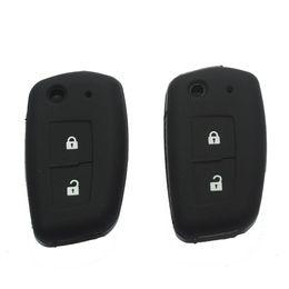 Wholesale Nissan X Trail Key - silicone key fob case cover for NISSAN Qashqai 2016 X-trail Murano Maxima Altima Juke Geniss QUEST Livina Nismo Fold Flip Remote
