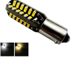 Wholesale Ba9s Led Error Free - Canbus ba9s 48smd 3014 LED Auto car Light Canbus W5W t10 led 194 Error Free Warm White Light Bulbs 12v Free shipping