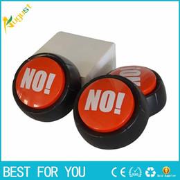 Botón divertido online-¡NO NO! Botón de sonido Squeeze Box Fun Stress Reliever Gifts Alivia la ansiedad y el estrés Juguet para adultos Niños Spin Toys