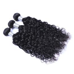 Işlenmemiş Hint İnsan Remy Virgin Saç Doğal Dalga Saç Örgüleri Saç Uzantıları Doğal Renk 100 g / paket Çift Atkı 3 Demetleri / lot cheap 3bundles weaves nereden 3 adet örgü tedarikçiler