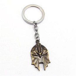 Wholesale Metal Dragon Car - New Arrived Dragon Age 3 Mask Keychain Unisex Metal Fashion Car Key Ring Hot Collection Gift