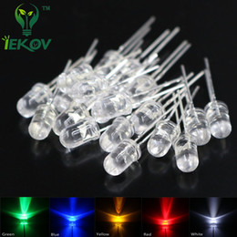 Wholesale 5mm Led Kit - Wholesale- IEKOV Led 5mm 500 pcs 5MM LED 5 mix Color Red Blue Green Yellow White ROUND Water Clear Super Bright Emitting diode led Kit
