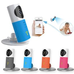 Wholesale Mini Wireless Camera Screen - Wholesale- 720P HD mini wireless wifi baby monitor with ip camera Infant Baby clever dog video Security Two-way TOPS Audio Night Vision