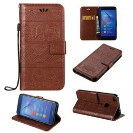 Wholesale Huawei Flip Case - For Huawei Honor 8 Lite Phone Case Huawei P8 Lite (2017)  Nova Lite Cover Flip Wallet Cases Stand Covers Premium PU Leather Shell
