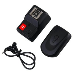 Wholesale Flash Radio Transmitter - Wholesale-2016 High Quality PT-04GY 4 Channel Wireless Remote Speedlite Flash Radio Trigger Transmitter Hot Promotion