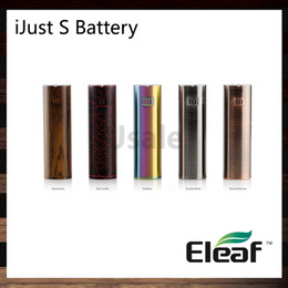 Wholesale Voltage Protection - iSmoka Eleaf iJust S Battery 3000mah Direct Output Voltage System Dual Circuit Protection 100% Original