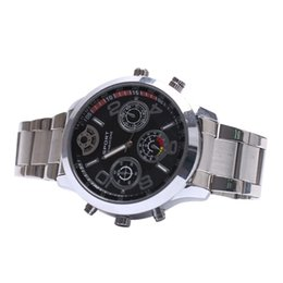 Wholesale Motion Detection Watch - HD 2K 2304*1296 Super HD Waterproof Hidden Spy Watch Camera video recorder with Motion Detection Photo and Voice recorder