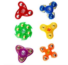 Wholesale Generations Designs - wholesale hot Designs Plastic Hand Spinner Second Generation Fingertips Spiral Fingers Gyro Torqbar Fidget Spinner Decompression Toys
