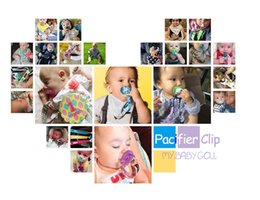 Wholesale Wholesale Mam Pacifier - 2017 New ! pacifier clip universal ,baby geometric designs  rainbow color geometry design fits most pacifier types including soothie and mam