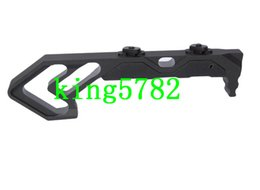 Wholesale Tactical Handguard - NEW Strike Industries Link Curved Foregrip Tactifans CNC Finished Aluminum Grip for M-Lok Tactical Rail HandGuard Airsoft Hunting
