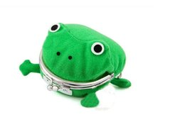 Wholesale Naruto Frog Plush - 2015 Naruto Cute Frog wallets children kids Frogs Plush Coin zero Purse Uzumaki pouch handbag cosplay goods with Iron button