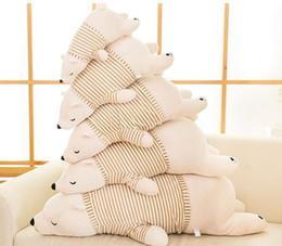 Wholesale Plush Pillow Penguin - 55CM 65CM 75CM Polar Bear Doll Penguin Seals Tarepanda Plush Toy Creative Pillow Doll Children's Toys Birthday Gifts